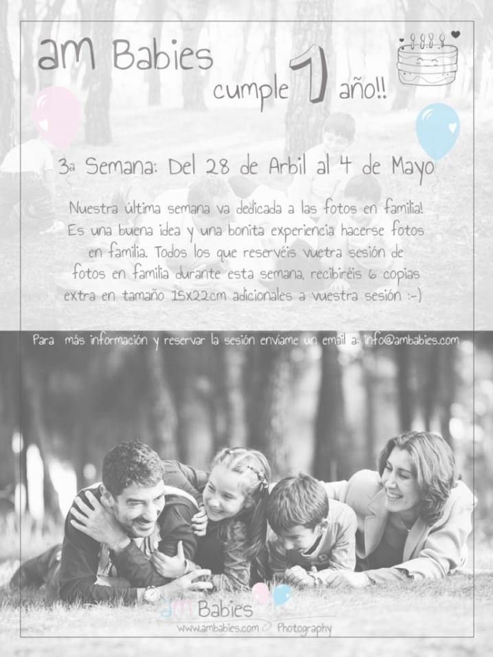 Promocion sesion Familia AMBabies