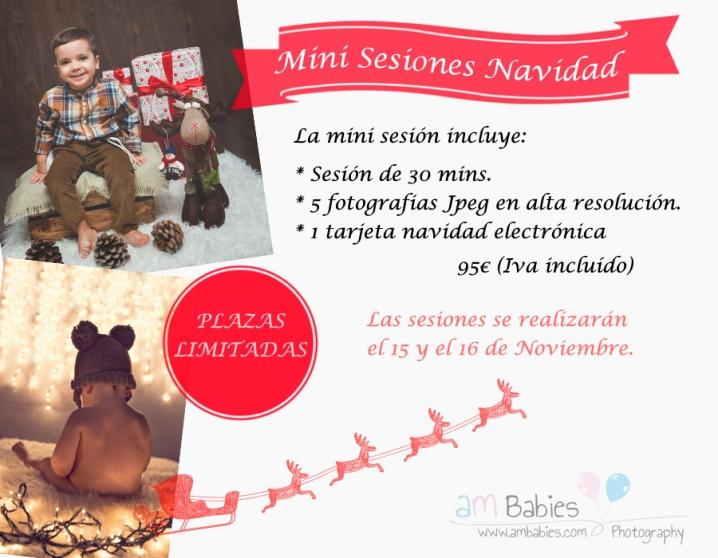 Mini sesiones Navidad - Xmas Mini sessiona